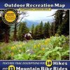 West Yellowstone, Big Sky and Bozeman Map - Bozeman hiking trails and Bozeman bike trails