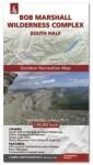 Bob Marshall Wilderness Complex Map - South Half