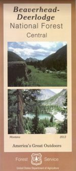 Beaverhead Deerlodge National Forest Map