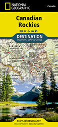 Canadian Rockies Destination Map 2013.indd
