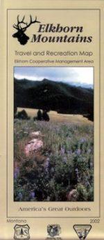 Elkhorn Mountain Map - Montana