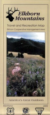 elkhorn_mountains_travel_and_recreation_map
