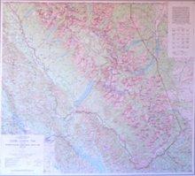 glacier_national_park_map_by_usgs_folded
