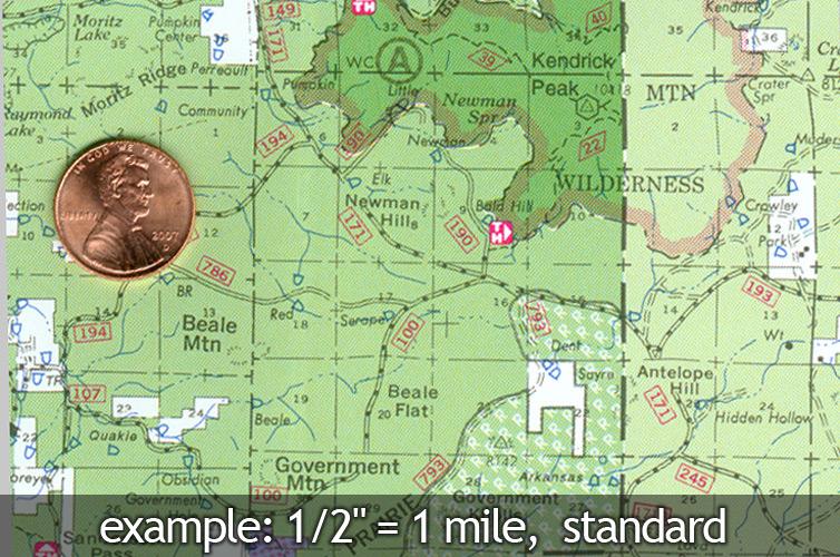 Kaibab National Forest Map Williams Tusayan Ranger