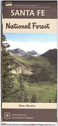 Santa Fe National Forest Map Rocky Mountain Maps Guidebooks