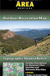 Bozeman hiking trails and mountain biking trails map