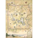 Wyoming Wall Maps